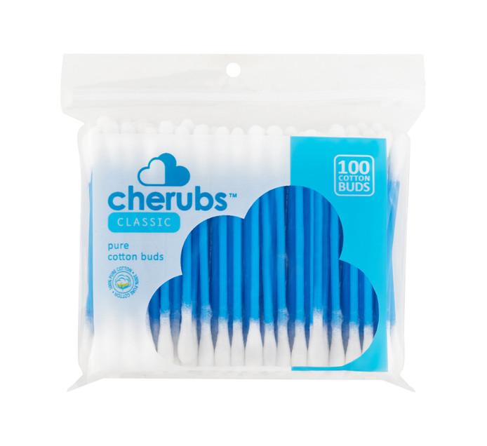 CHERUBS Cotton Buds Zip Lock (1 x 100's)