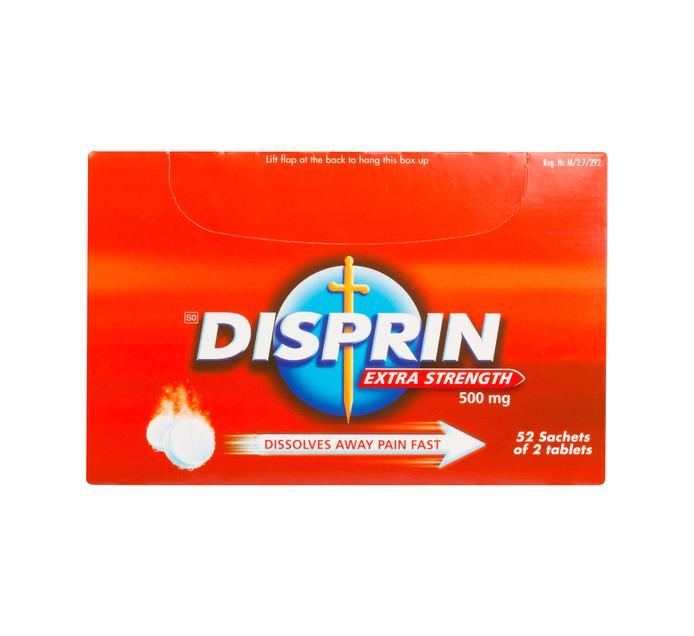 DISPRIN EXTRA 2'SX52