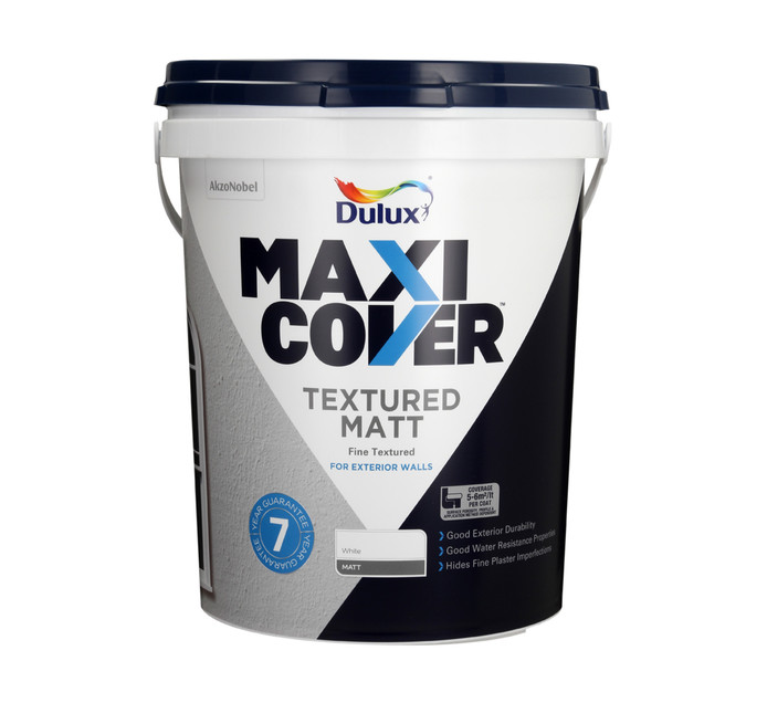 DULUX 20L Textured Matt 20l White