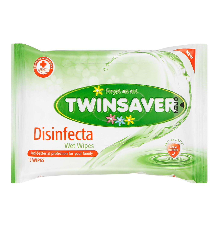 Twinsaver Hygiene Wipes Disinfecta (1 x 10's)