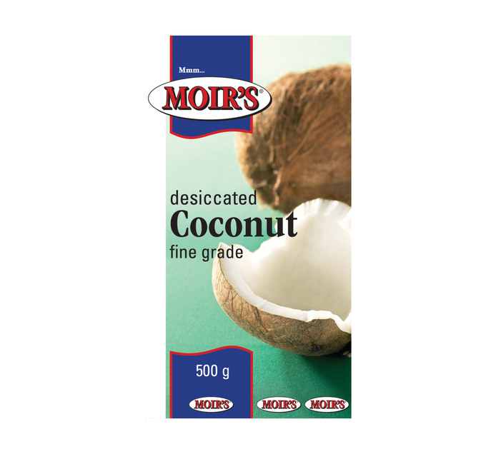 MOIRS Coconut Fine (1 x 500g)