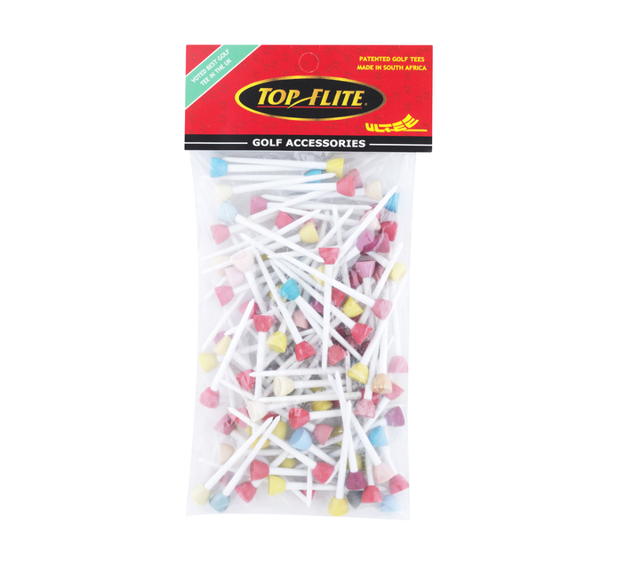 TOP FLITE 100 Pack Jumbo Golf Tees
