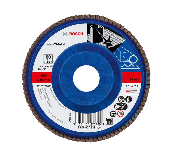 BOSCH 80 Grit Flap Disc