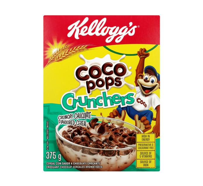 KELLOGG'S Coco Pops Crunchers (1 x 375g)