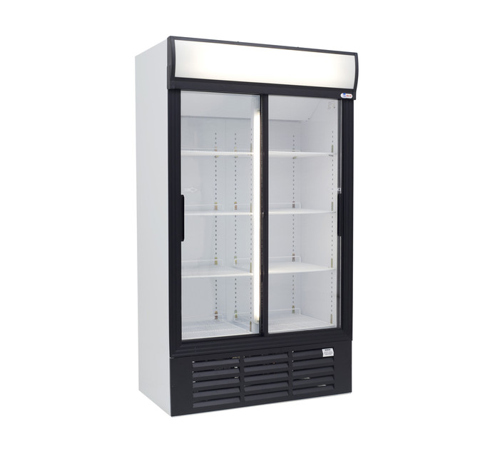 MARSTAR Sliding Door Fridge