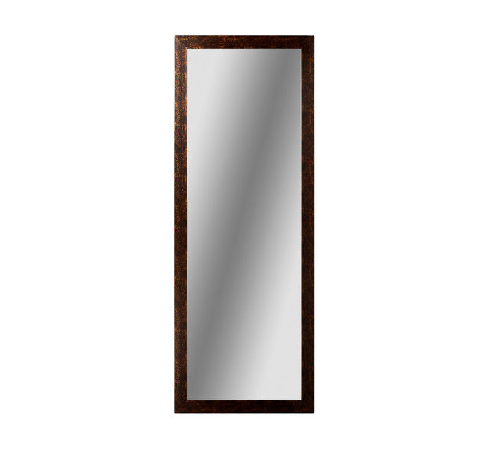480mm x 1280mm Mahogany Framed Mirror