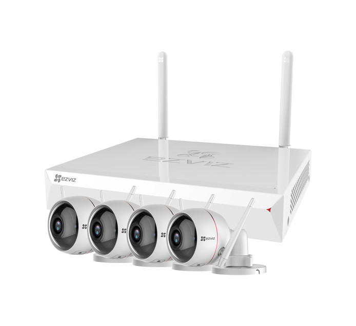 """EZVIZ Smart NVR 8""""/ 4cam CCTV kit"""