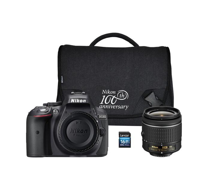 NIKON D5300 DSLR Single Lens Camera  Bundle