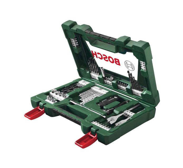 BOSCH 68 PC Drill Bit And Screwdriver Set