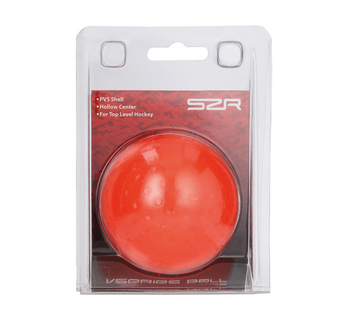 SLAZENGER DIMPLE HOCKEY BALL NEON ORGE