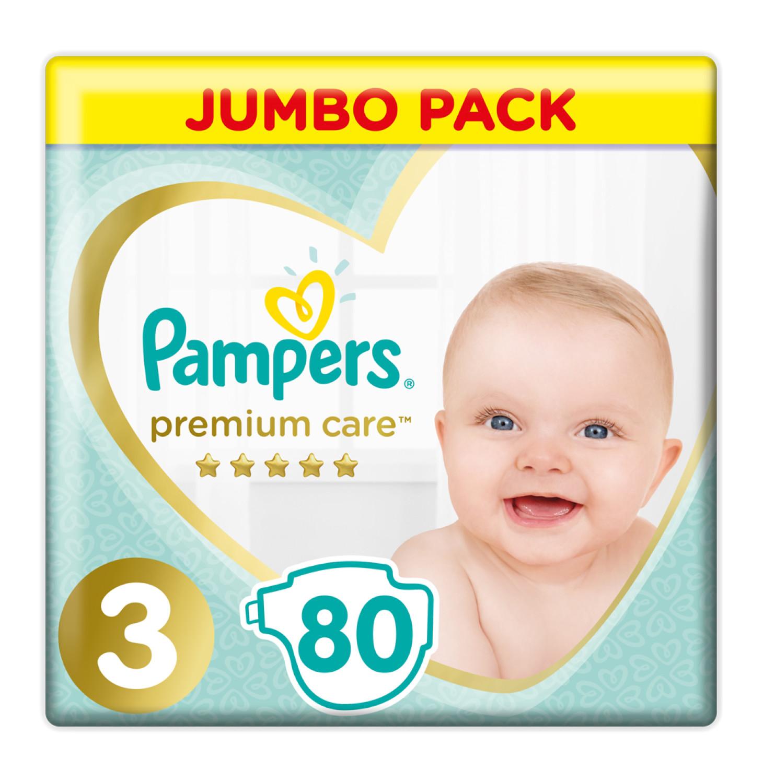 Pampers Premium Care Jumbo Diapers Midi (1 x 80's)