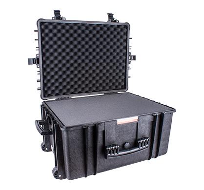 Hard Case 670x510x375mm Od With Foam Black Water & Dust Proof 584433