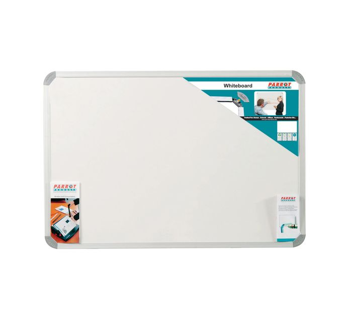 PARROT Whiteboard Non Magnetic 1800x1200mm Each