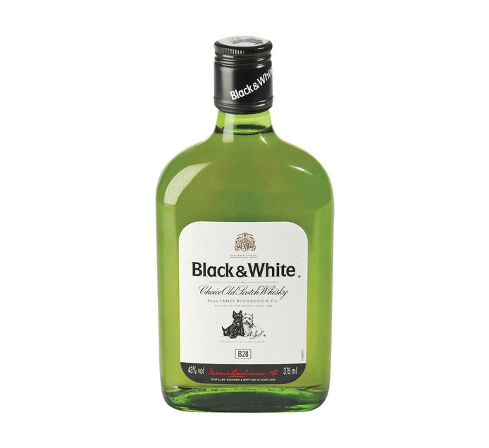 BLACK & WHITE Scotch Whisky (6 x 375ml)