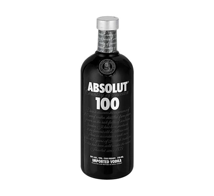 ABSOLUT 100 VODKA 750ML