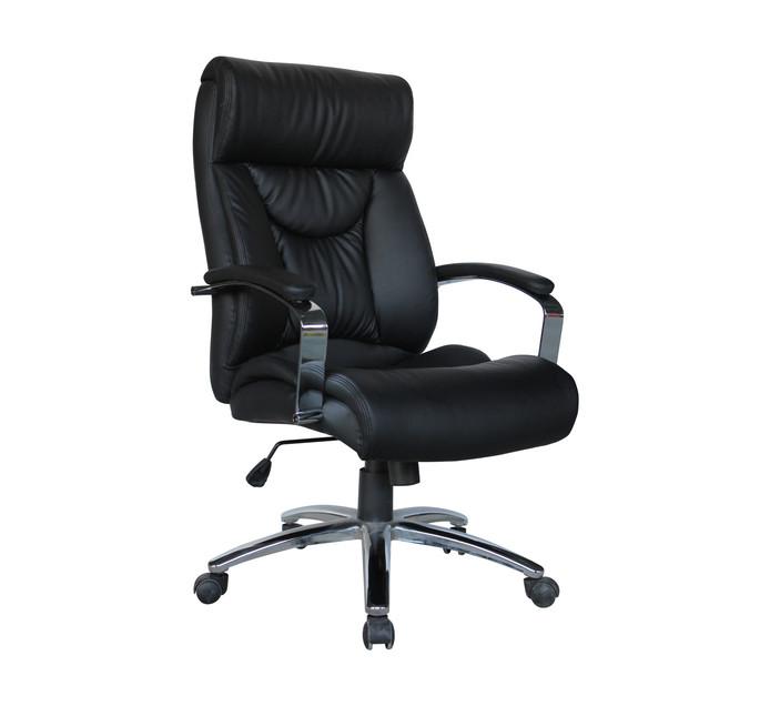 Estello Genuine Leather High Back Chair