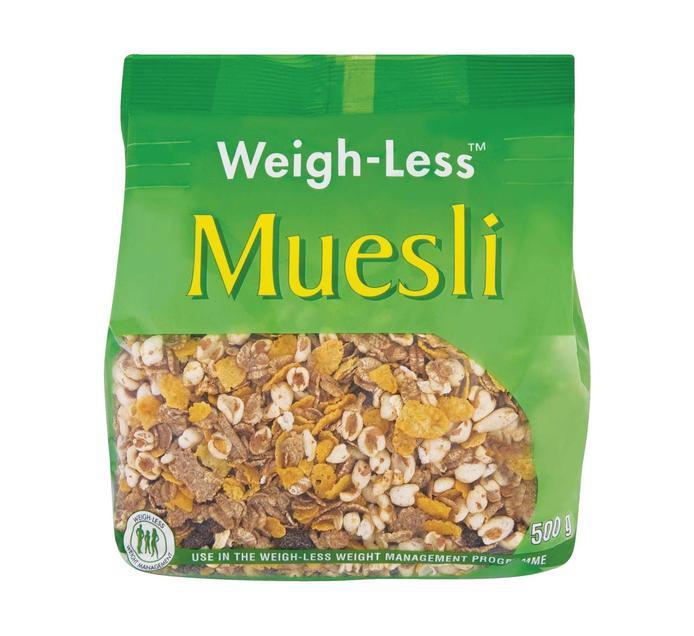 WEIGHLESS Muesli (1 x 500g)