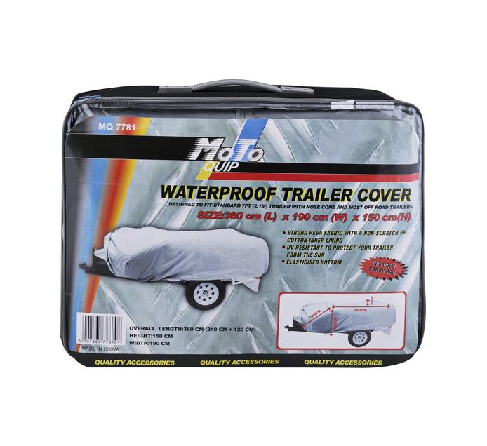 MOTO-QUIP 7 Foot Waterproof Trailer Cover