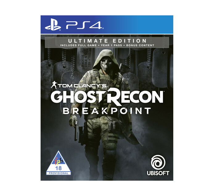 PS4 Ghost Recon Breakpoint Ultimate Edition - Available 1 October 19