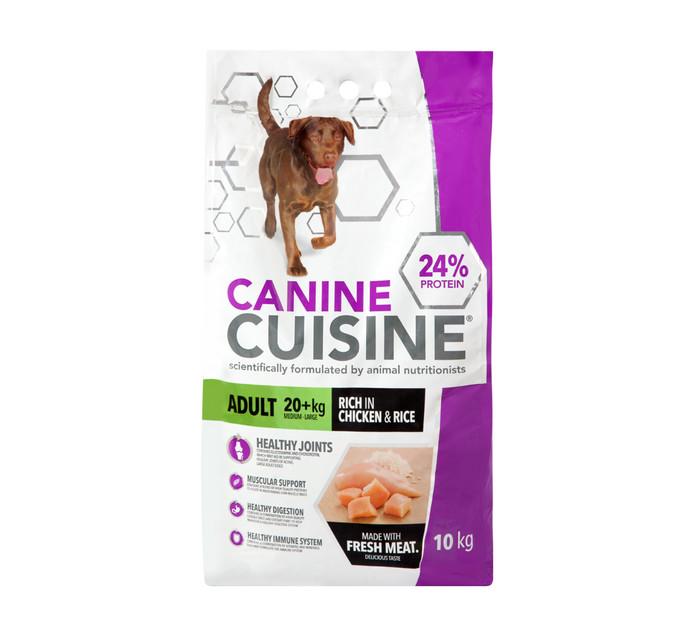 CANINE CUISINE 1 x 10kg Dry Dog Food
