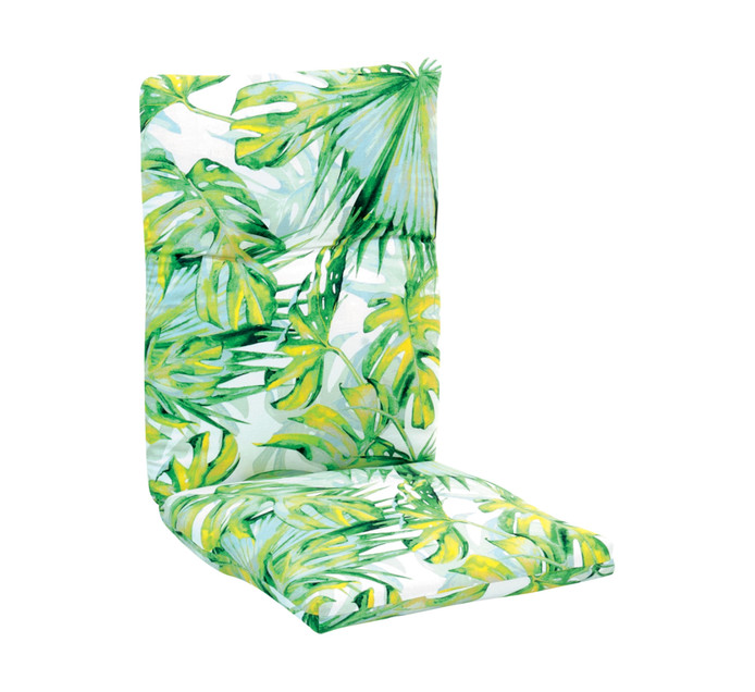 TERRACE LEISURE Jungle Leaf High Back Cushion