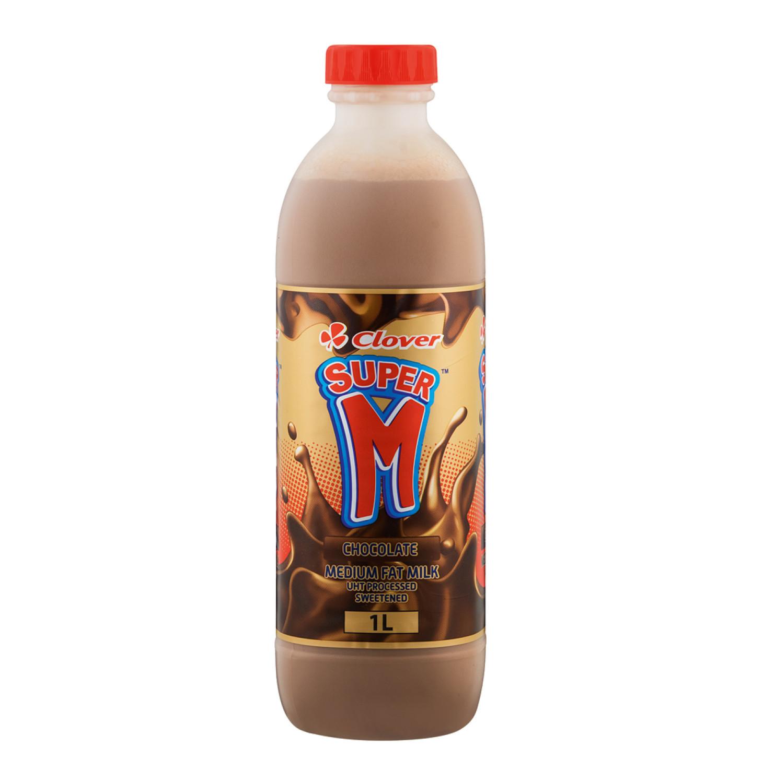 Clover Super M Flavoured Milk Chocolate (1 x 1lt)