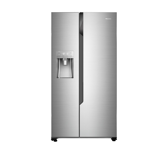 HISENSE 535 l Side by Side Fridge/Freezer with Water and Ice Dis