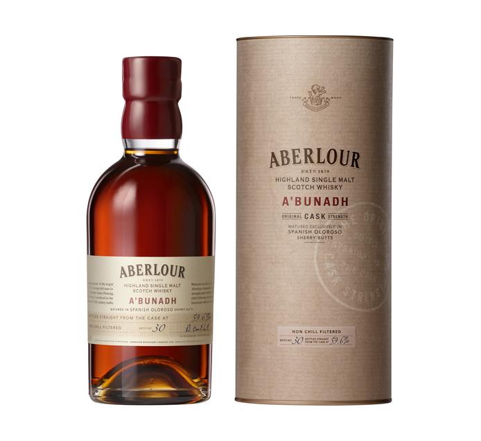 ABERLOUR A'BUNADH Highland Single Malt Scotch Whisky (1 x 750ml)