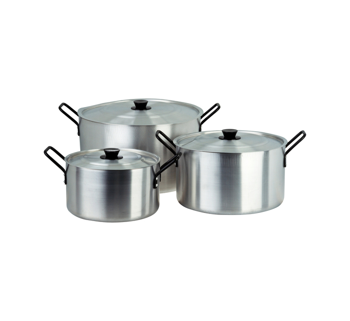 ARO Professional 3 Piece Stew Pot Set