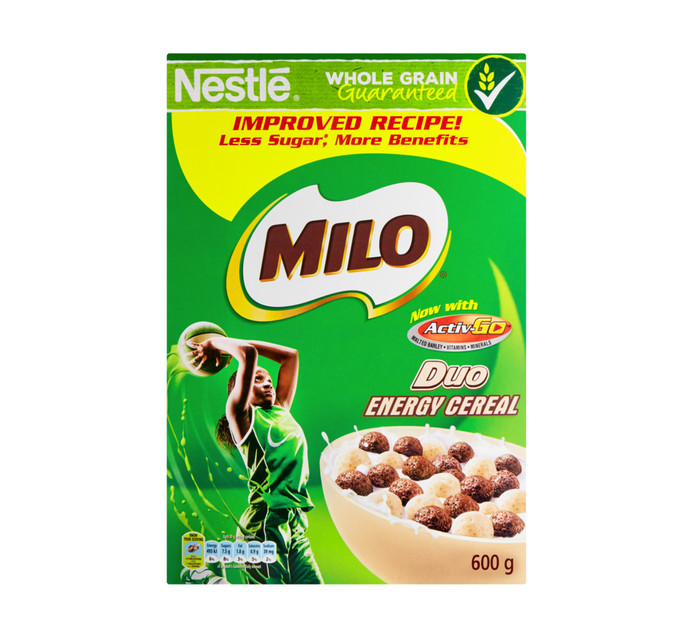 NESTLE Milo Duo Cereal (1 x 600g)