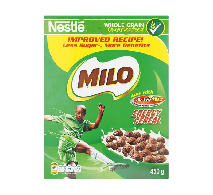 NESTLE Milo Cereal (1 x 450g)