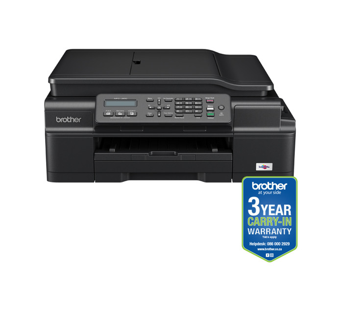 BROTHER MFCJ200 Ink Benefit 4-in-1 Colour Inkjet Printer