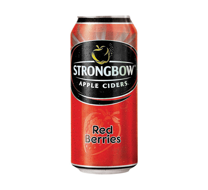 STRONGBOW Red Berries Can (6 x 440ml)
