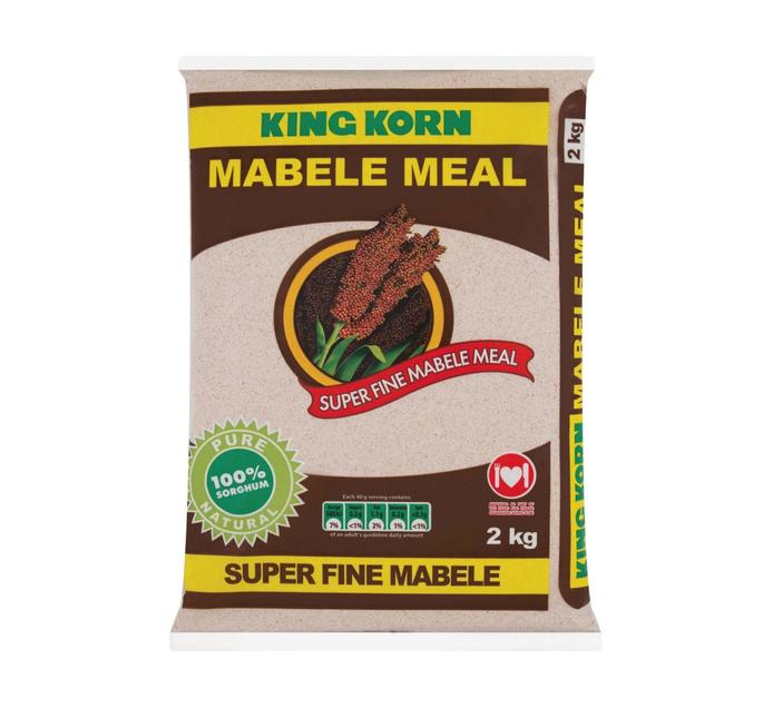 KING KORN MABELE MEAL SUPER FINE 2KG