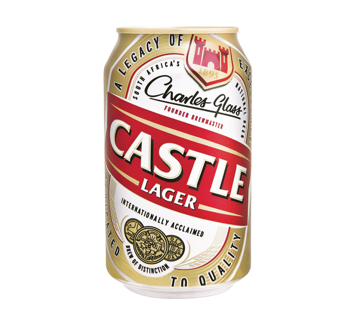 CASTLE Lager Can (24 x 330ml)