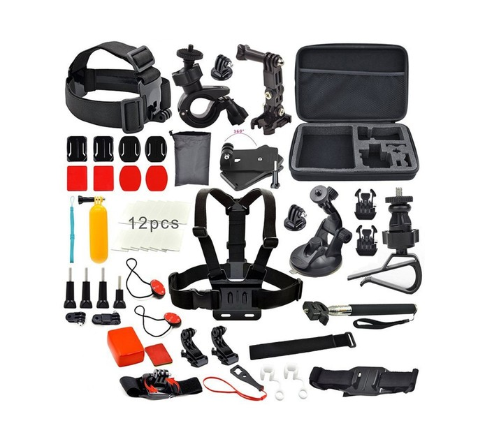 GOXTREME 26 PC ACTION CAMERA ACCESSORIES KIT