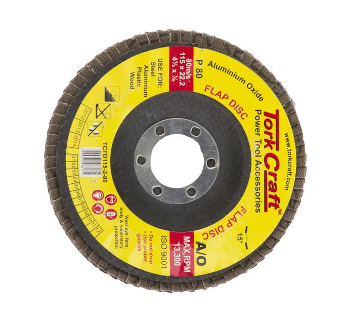 TORK CRAFT 80 Grit Flap Disc