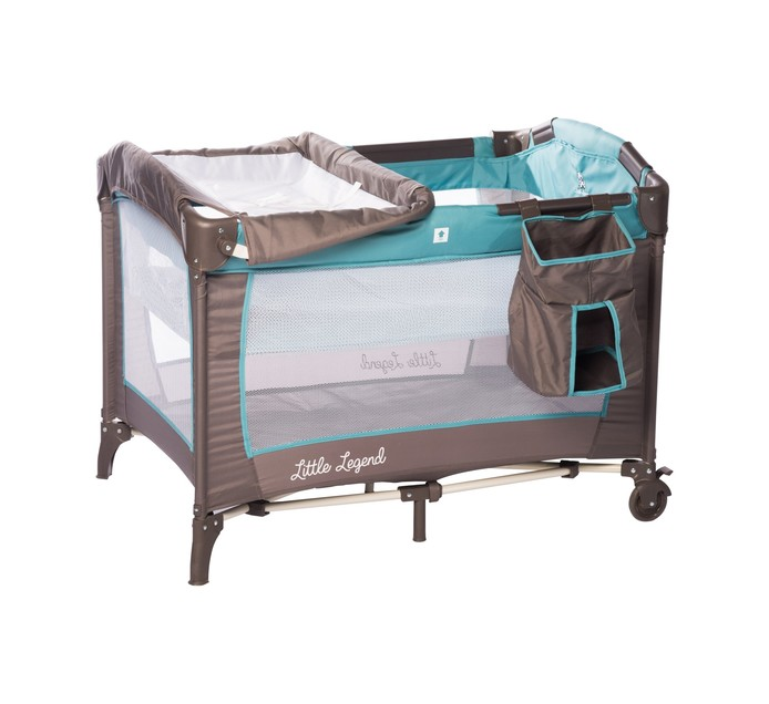 LITTLE LEGEND Camp Cot with Change Table