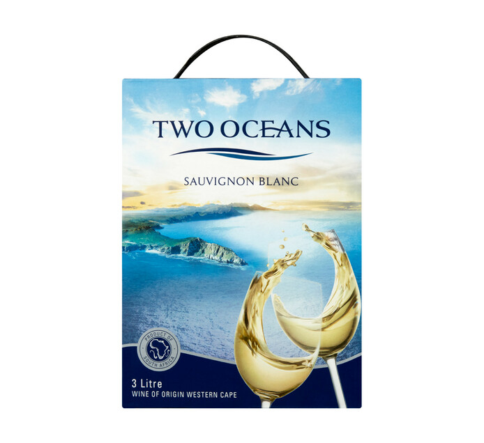 TWO OCEANS Sauvignon Blanc (1 x 3L)