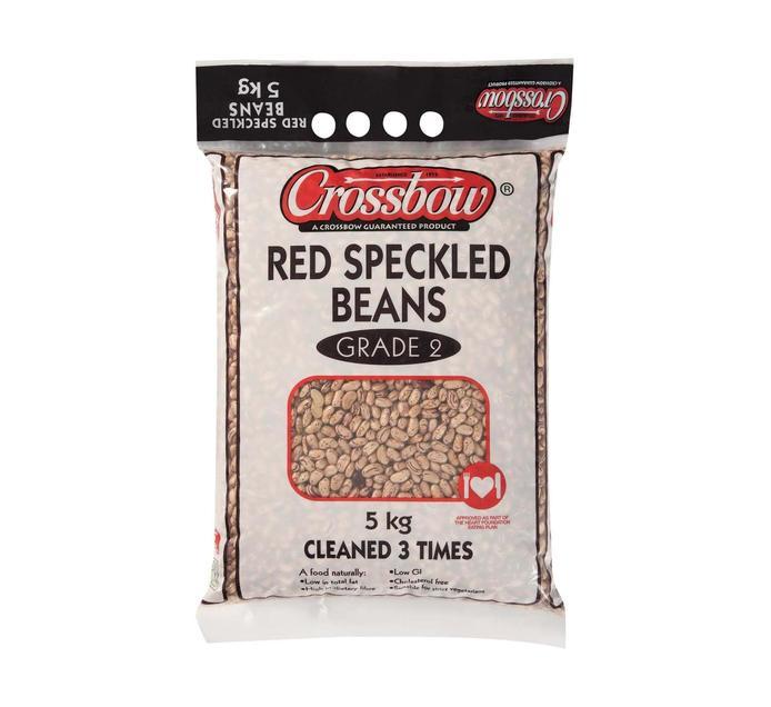 CROSSBOW Red Speckled Sugar Beans Sugar Beans (1 x 5kg)