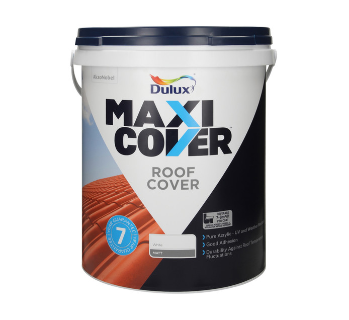 DULUX 20L Roof Cover White 20L