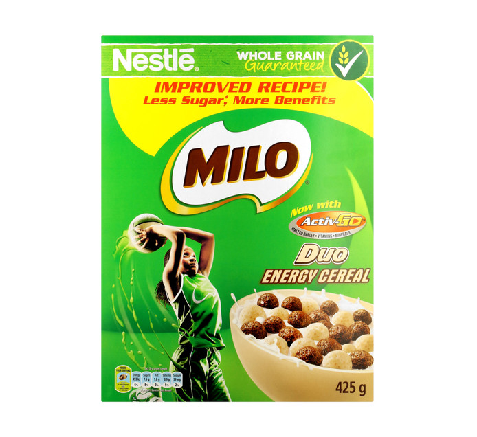 NESTLE Milo Duo Cereal (1 x 425g)