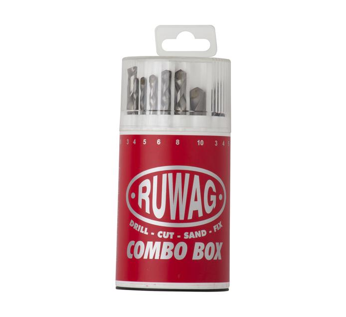 RUWAG 18 PC Combo Set Hss/Mas/Wood