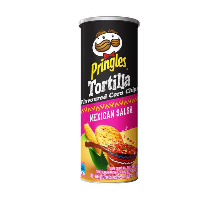 PRINGLES Corn Chips Mexican Salsa (1 x 110g)