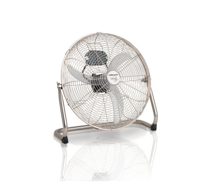 """Fan 3 Speed Floor Fan Steel 45cm 60W """"Velocity III"""""""