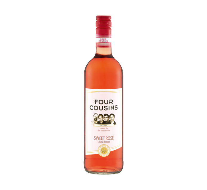 FOUR COUSINS Sweet Rose (1 x 750ml)