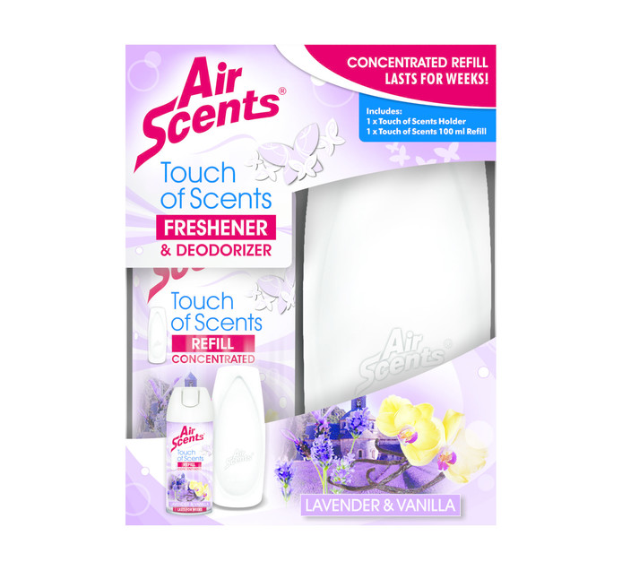 AIR SCENTS 1 x 1 Air Freshener Dispenser & Refill