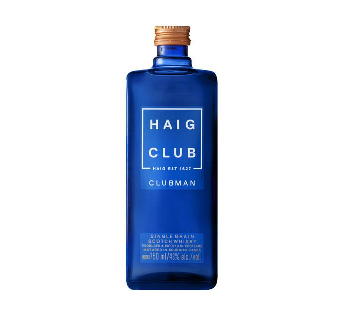 HAIG CLUB CLUBMAN SCOTCH WHISKY 750ML