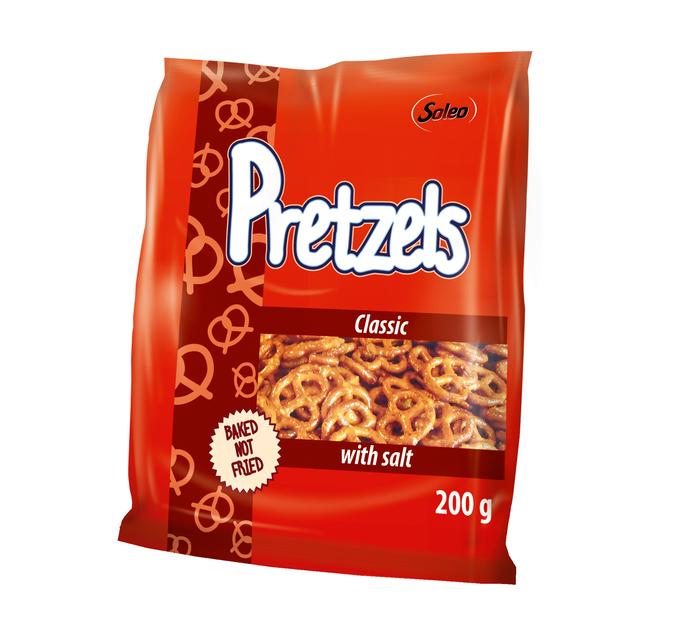 SOLEO Pretzel With Salt (1 x 200g)