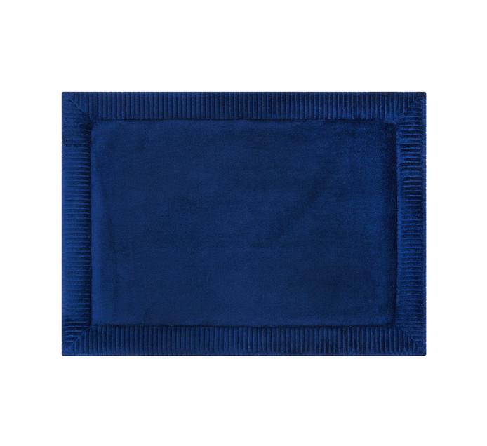 HOME LIVING 43 cm x 60 cm Verona Memory Foam Mat Blue Admiral